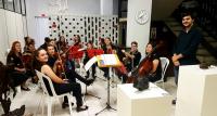 Exposição Arte Raiz  - Osmar Mathias  | Abertura com Orquestra Tra-la-lá