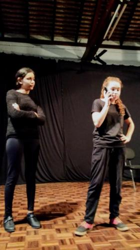 Mostra Didática de Teatro - Alunos FIC