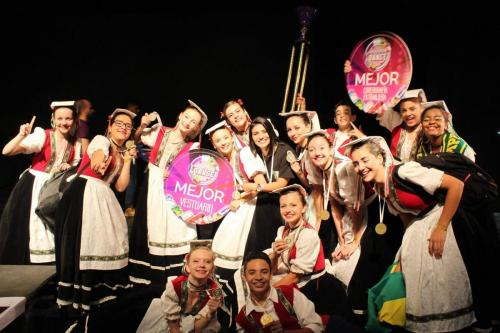 Grupo Campeão Sulamericano 2017 - Universal Dance Brasil.